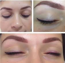 о перманентном макияже бровей до и после заживления по дням стадии