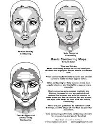 basic makeup contouringby the cosplay scion