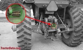 John Deere Tractor Refrigerant Capacity Chart Tractordata Com John Deere 4230 Tractor Information