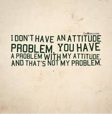 Bad Attitude Quotes Interesting 48 Wonderful Bad Attitude Quotes Latest Sayings About Bad