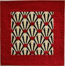 942 best images about quilts on Pinterest & Black Red and Cream Silk Miniature Fan Quilt. Asian QuiltsMiniature QuiltsArt  Deco ... Adamdwight.com