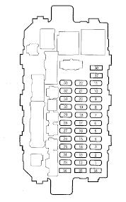honda cr v (2000 2001) fuse box diagram auto genius Pa66 Gf30 Sensor at Pet Gf30 Fuse Box