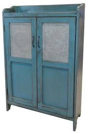 tin furniture. punched tin cupboard furniture u