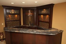 Plain Small Basement Corner Bar Ideas Traditional Cleveland By Architectural To Concept