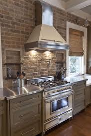 Exposed Brick Kitchen 35 Best Gray Kitchens Images On Pinterest Gray Kitchens Kitchen