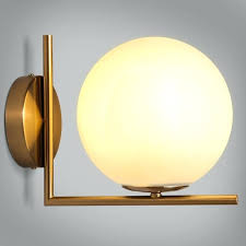 glass wall sconce simple white globe glass shade single light indoor wall sconce indoor sconces replacement glass wall sconce