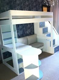 loft beds with couch underneath tween loft bed with pullout desk sofa and multi functional stairs loft beds with couch underneath bunk beds with desks