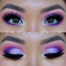 i can never get enough of pinks and purples sorry bout itttttt find this pin and more on cool makeup