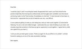 Job Interview Thank You Letter Samples Letter Of Recommendation