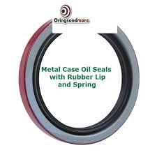 Metric Lip Oil Seals Buna Oil Seals 16mm Height