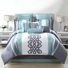 teal comforter set queen piece comforter set in teal silver white a teal and brown comforter teal comforter set