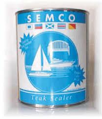 Semco Teak Sealer Color Chart Semco Teak Care Products Teak Sealer
