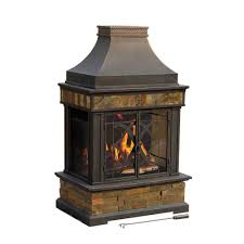 steel and slate outdoor fire place 110504011 at the home depot mobile