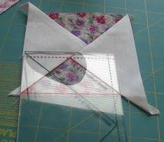 Eleanor Burns Makes Americana Star | Quilt in a Day Videos ... & Stitches and Ditches: Eleanor Burns Quilt in a Day flying geese ruler Adamdwight.com
