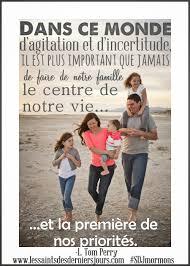 Les Saints Des Derniers Jours Limportance De La Famille Divers
