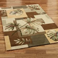 picture 8 of 50 palm tree area rugs new tropical