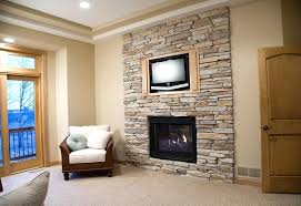 faux stone wall with electric fireplace faux stone fireplace stacked surround white panels for modern faux