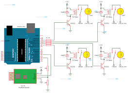 arduino based home automation circuit diagram