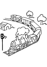 Dessins Colorier Coloriage Train Imprimer Coloriant Prefix Gare X