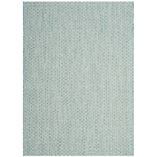 safavieh courtyard light blue light gray 4 ft x 6 ft indoor