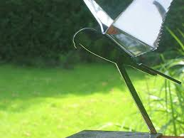 bird statue falcon modern stainless