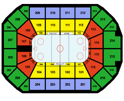 Wolves Hockey Seating Chart Allstate Seating Chart Concert Salsa Dancing Lessons