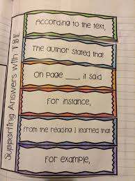 Text Based Evidence Anchor Chart Mentor Text In The Upper Grades Great Tips For Using It