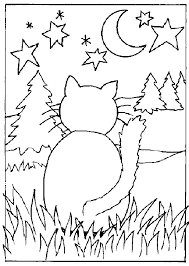 Small Picture Perfect Cat Color Pages Top Coloring Ideas 9467 Unknown