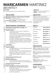 Resume In English New Maricarmen Martinez R Resume