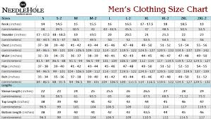 Dress Size Chart Mens Dress Size Chart For Men 2019