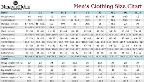 dress size chart mens dress size chart for men 2019