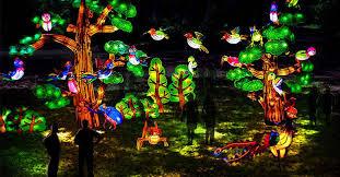 giant silk lanterns to adorn fort worth botanic garden
