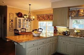 image of kitchen window valances ideas