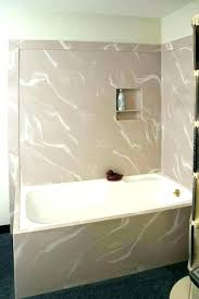 casual acrylic tub surround r3500832 bathtub