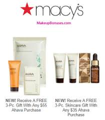 receive a free 3 pc gift with your 35 ahava purchase