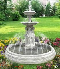 outdoor garden fountain. Backyard Designs Outdoor Fountains Garden Water Fountain R