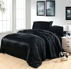 silk duvet cover king black silk bedding set satin king size queen full twin double quilt duvet cover fitted bed sheets doona comforters sets king bedding