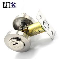 modern door lock hardware. LHX CMMS241 Hardware New Round Interior Door Lock Beautiful Modern Stainless Steel One Side Open With Key Locks Cerradura-in From Home Improvement On A
