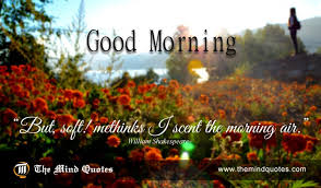 Shakespeare Good Morning Quotes Best of William Shakespeare Quotes On Life And Morning Themindquotes