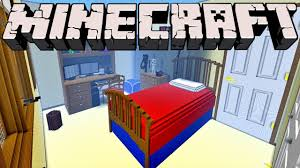 Minecraft Bedroom In Real Life Giant Minecraft Bedroom 1 Inch Scale Model Youtube