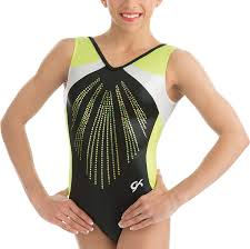 Gk Elite Size Chart Amazon Com Gk Elite Youth Black Pearl Gymnastics Leotard