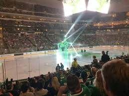 American Airlines Center Section 109 Home Of Dallas Stars