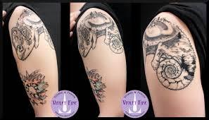 Tatuaggio Stelle Violet Fire Tatto Tatuaggi Maranello