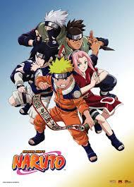 Naruto - Naruto, Sasuke, Sakura, Kakashi, And Iruka Wall Scroll ...