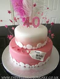 40th Birthday Cake For Her