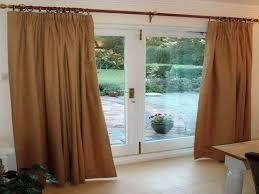 sliding glass door curtains cute