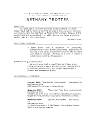 Makeup Artist Objective Resume Sample For Mac Examples Sephora