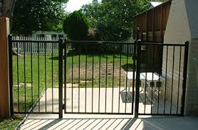 Fence Gate Aluminum Fence Metal Gate Nongzico