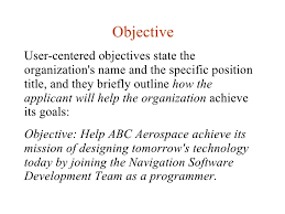 Objective ...
