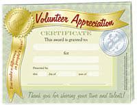 Volunteer Certificates Volunteer Certificate Template Free